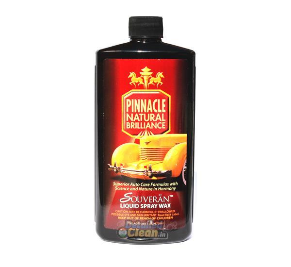 Pinnacle Souveran Liquid Spray Wax 16oz