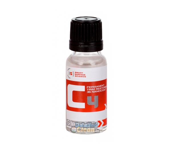 Gtechniq C4 Permanent Trim Restorer 30ml