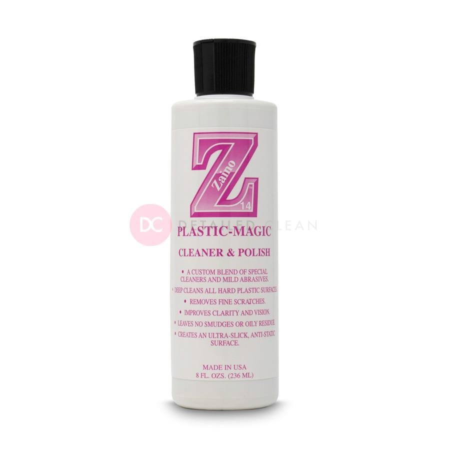 Zaino Z14 Plastic Cleaner & Polish