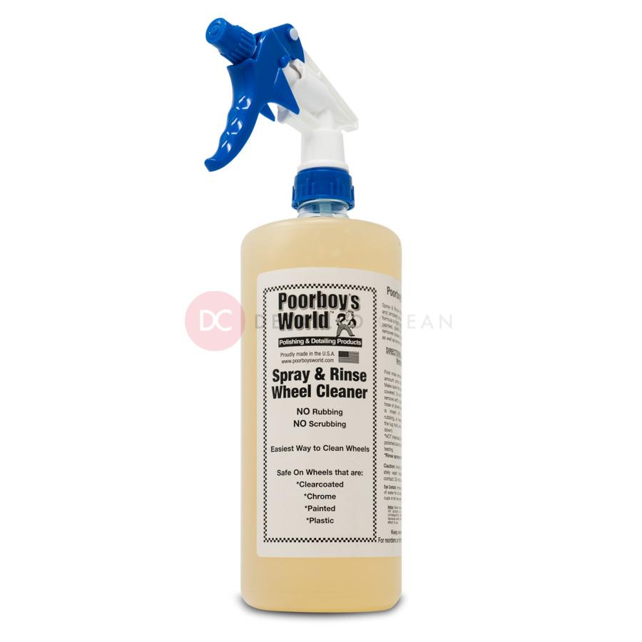 Poorboys Spray and Rinse 32oz