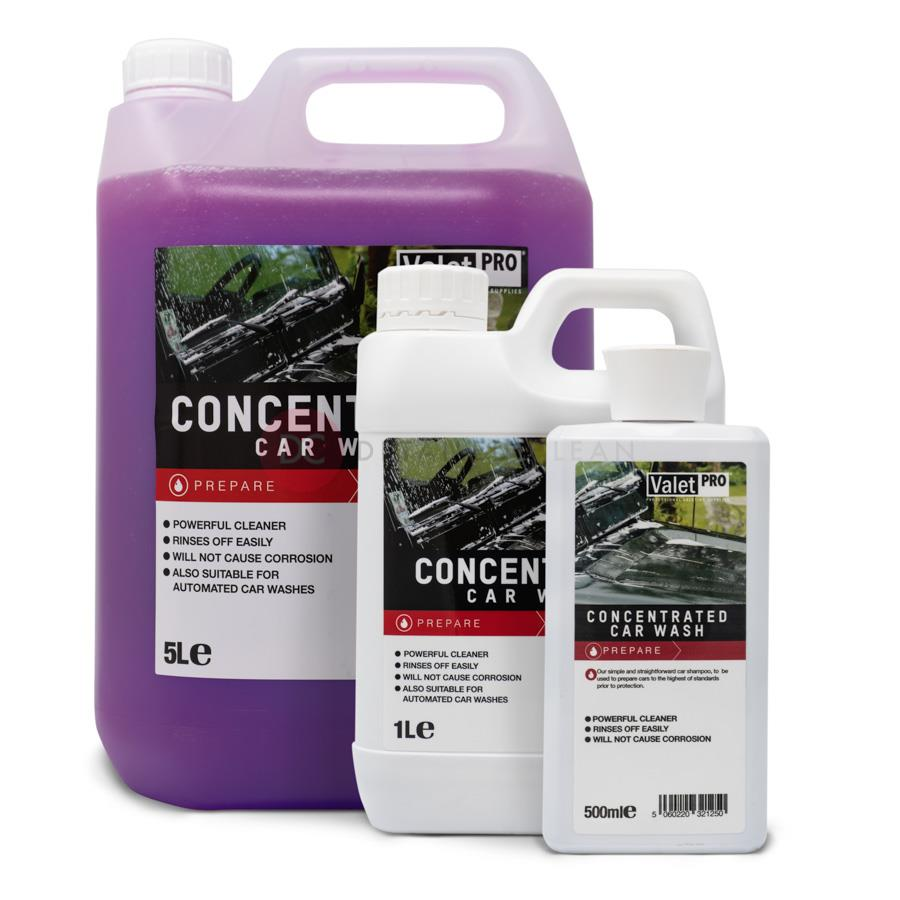 Valet Pro Concentrated Car Wash 5 Litres