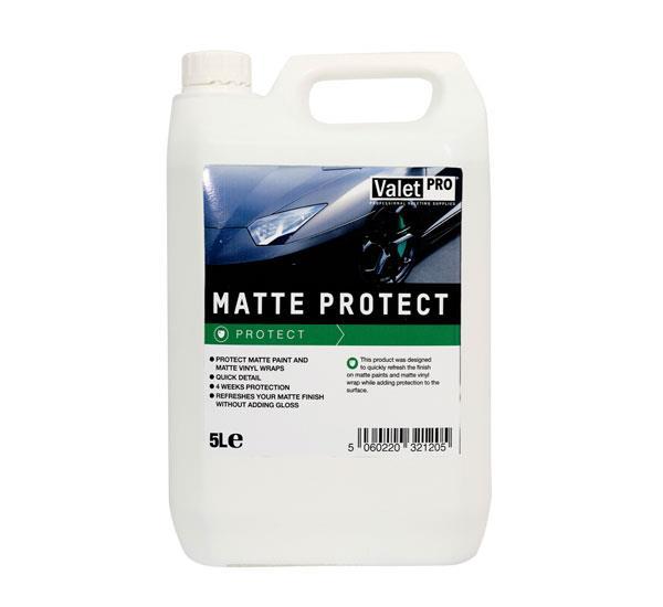 Valet Pro Matte Protect 5 Litre