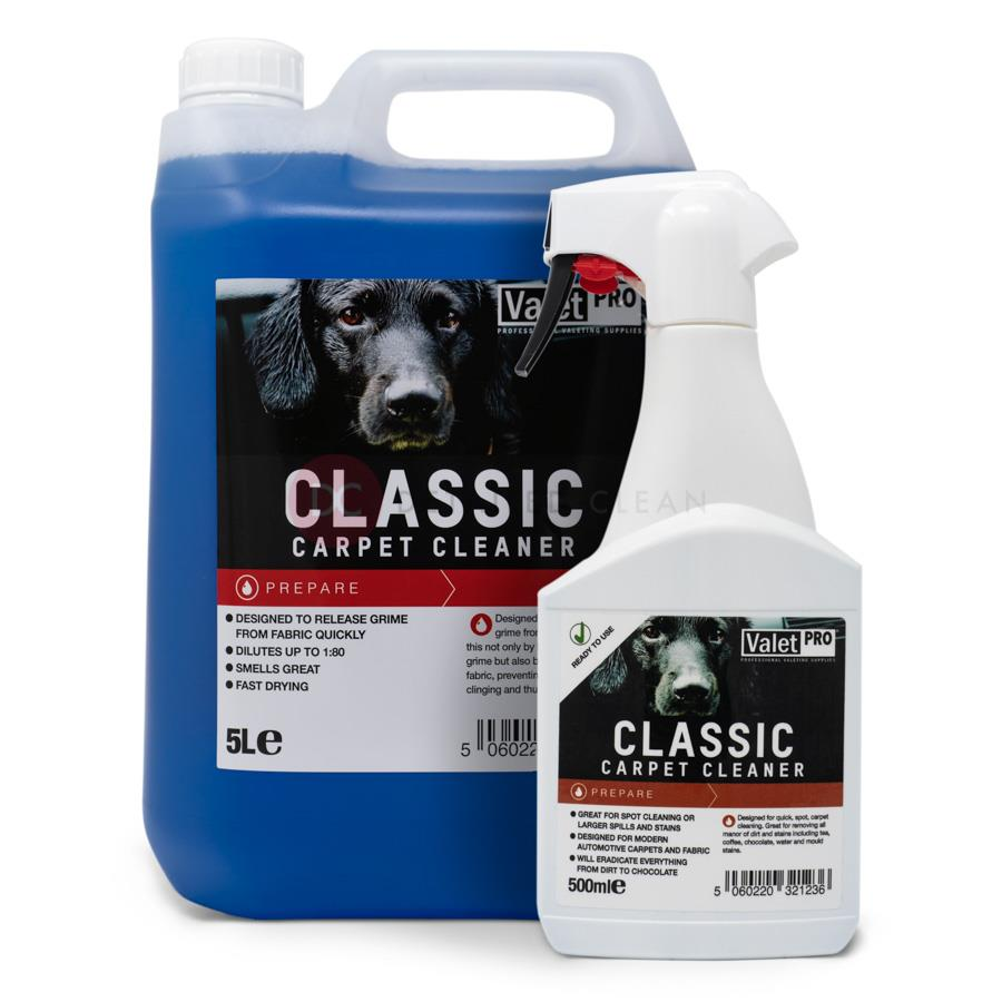 Valet Pro Classic Carpet Cleaner 5L