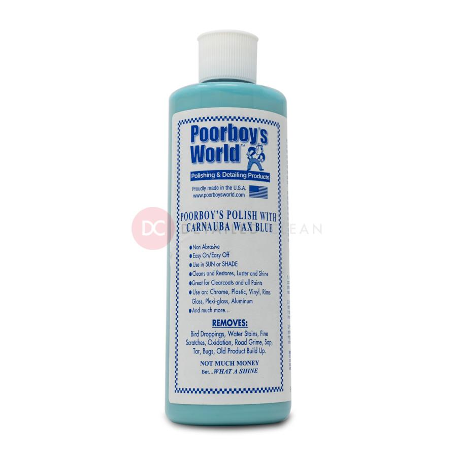 Poorboys Polish with Carnauba Blue