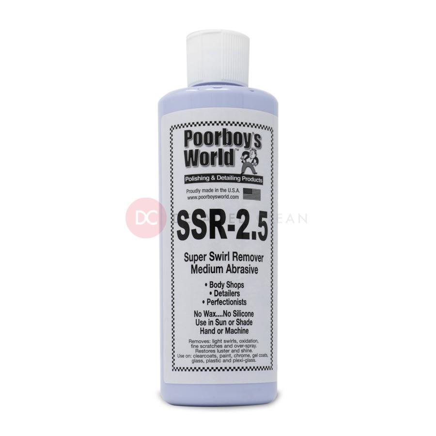 Poorboys SSR 2.5 Super Swirl Remover 16oz