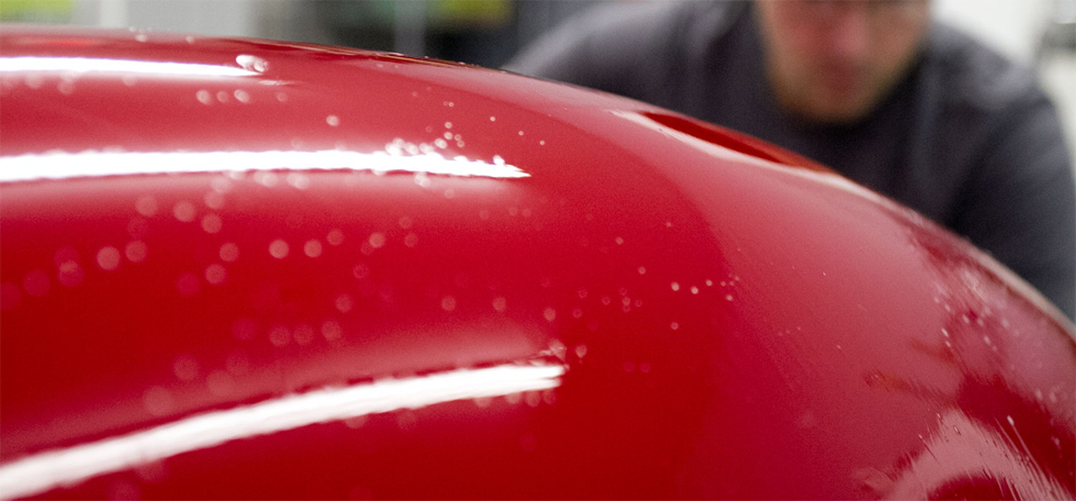 how to remove clear coat residue on surrounding
